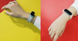 نسخه شفاف دستبند هوشمند شیائومی