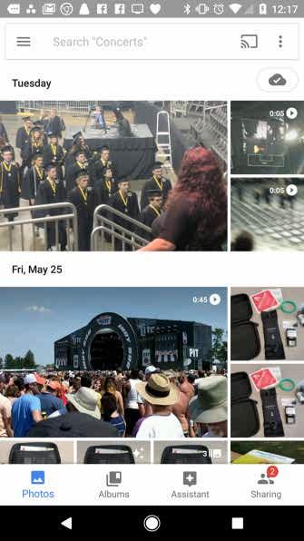 برنامه Google Photos