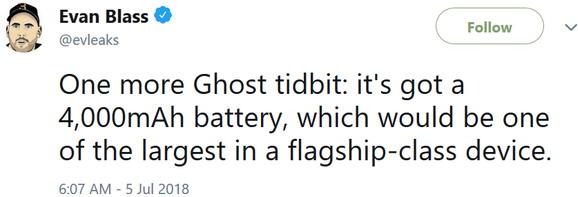 بلک بری Ghost