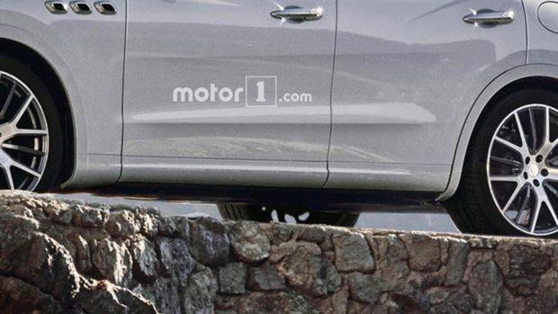 تصاویر مفهومی خودرو SUV کوچک مازراتی