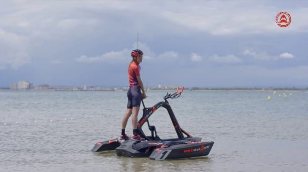 قایق پدالی RedShark Bikes