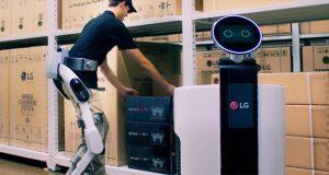 ربات اسکلتی CLOi شرکت ال جی