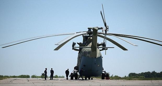 بزرگترین هلیکوپتر دنیا