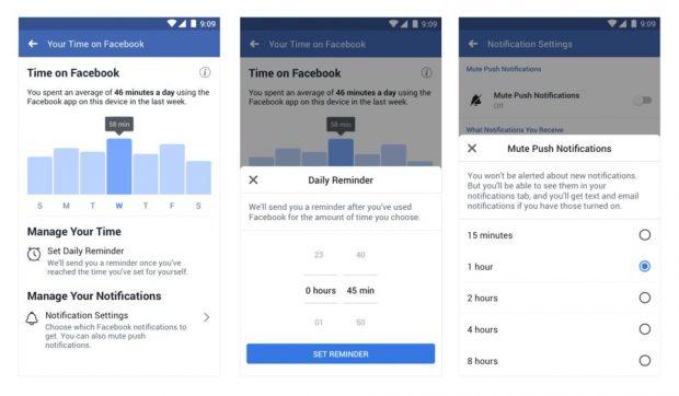 تنظیمات Your Activity فیس بوک