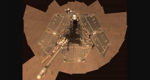 طوفان مریخی حیات کاوشگر آپورچونیتی ناسا را به خطر انداخته است