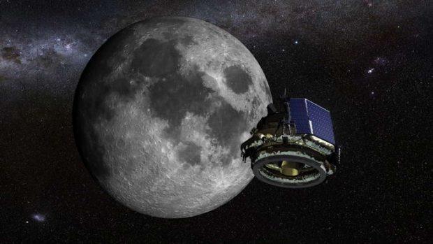 استخراج آب از ماه