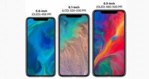 پیش فروش آیفون های 2018 اپل