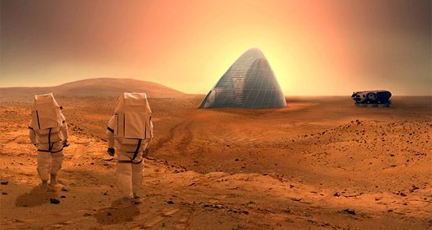 سکونت در مریخ