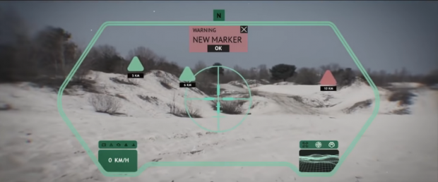 تکنولوژی واقعیت مجازی در تانک ها