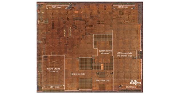 ترانزیستورهای تراشه A12