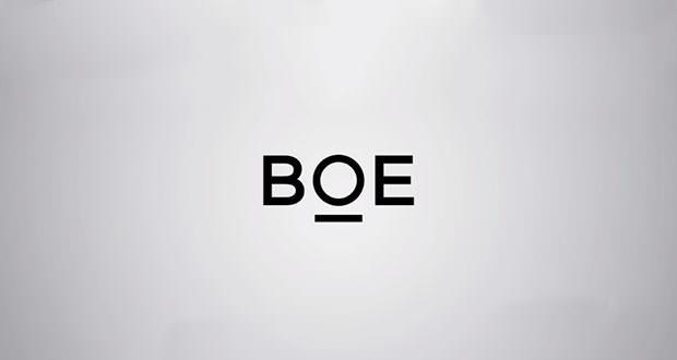 نمایشگر منعطف BOE
