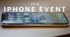 رویداد معرفی آیفون های 2018