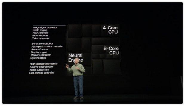 امتیاز تراشه اپل A12