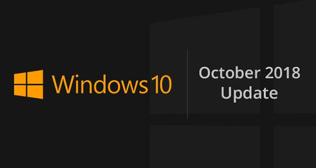 آپدیت ماه اکتبر ویندوز 10