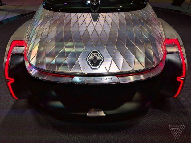 اتومبیل خودران مفهومی رنو EZ-Ultimo
