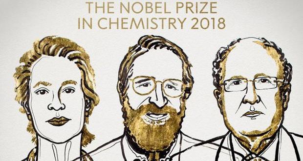جایزه نوبل شیمی 2018