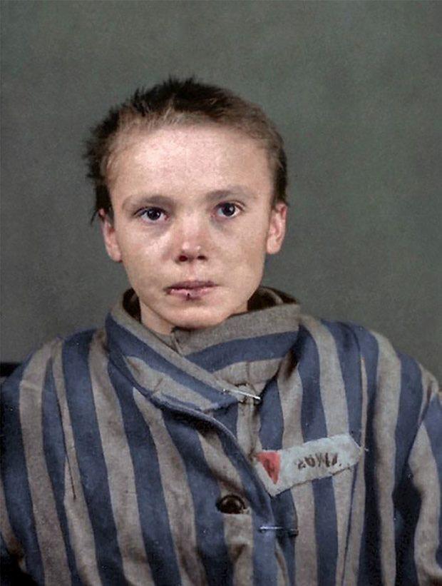 Czesława Kwoka در اردوگاه آشویتس