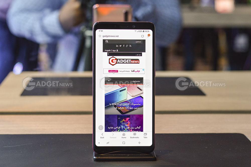نگاه نزدیک به سامسونگ گلکسی ای 9 2018 – Samsung Galaxy A9 2018