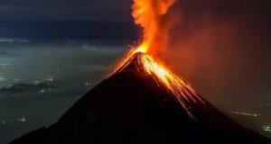 فوران آتشفشان دماوند