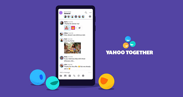 اپلیکیشن Yahoo Together