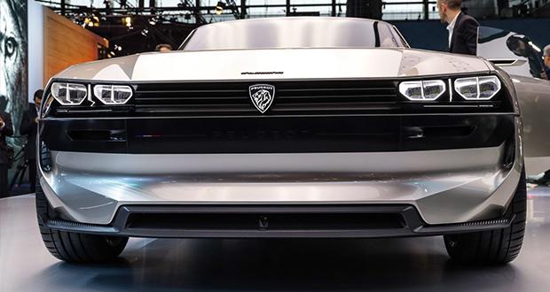 خودرو مفهومی الکتریکی پژو E-Legend