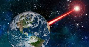 تاباندن اشعه لیزر در فضا فرازمینی ها را از وجود ما باخبر میکند!