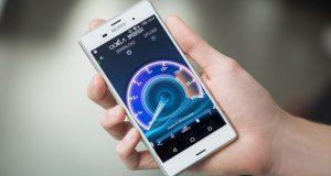 سرعت دانلود اینترنت موبایل