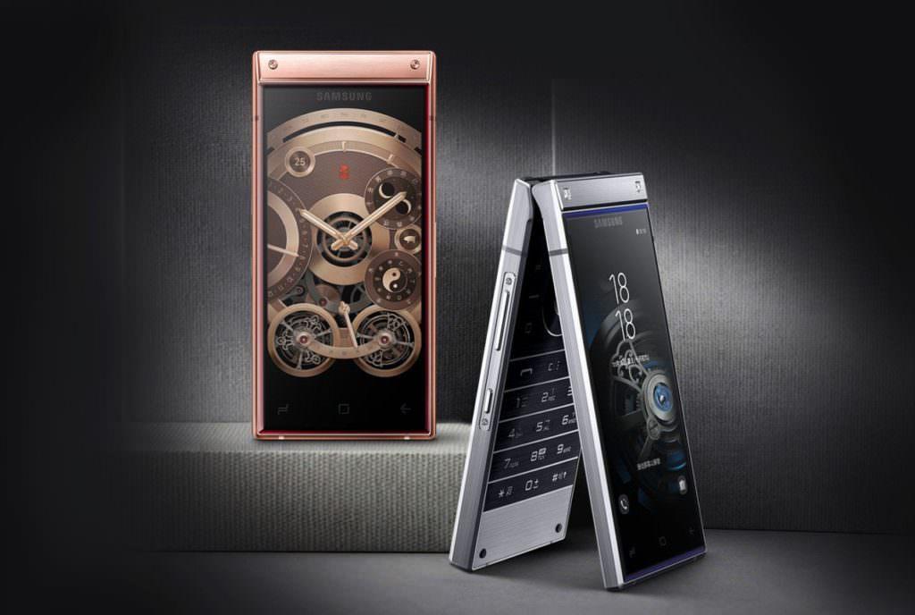 موبایل تاشو سامسونگ W2019 با دو صفحه نمایش لمسی معرفی شد