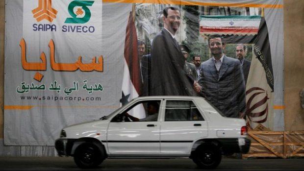 محصولات سایپا در سوریه