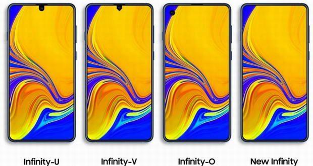 پنلهای Infinity display جدید