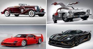 سریع ترین خودروهای جهان