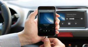 اتصال گوشی اندرویدی به ضبط ماشین