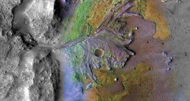 محل فرود کاوشگر مارس 2020 ناسا