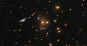 تلسکوپ هابل تصویر یک لبخند فضایی را ثبت کرد!
