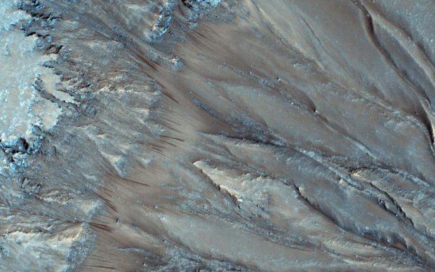 وجود آب در مریخ