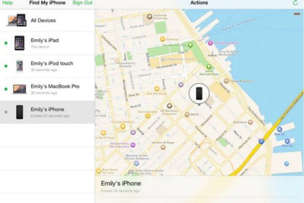 نرم افزار Find My iPhone