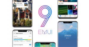 رابط کاربری EMUI 9