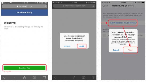 فیسبوک به نوجوانان در ازای جاسوسی اطلاعات شخصیشان پول داده است!