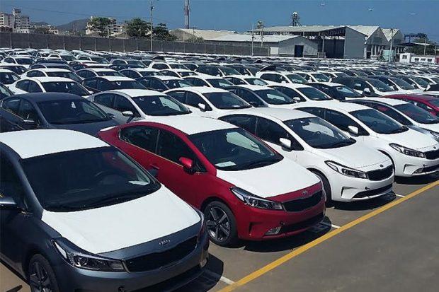 خودروهای وارداتی