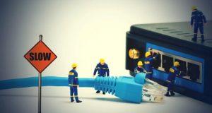 کمترین سرعت اینترنت