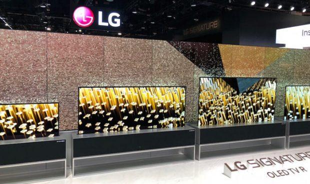 ال جی در نمایشگاه CES 2019