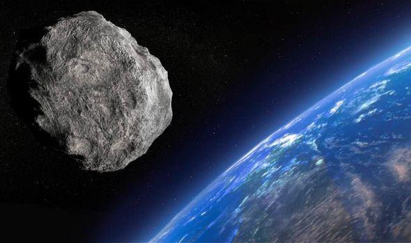 برخورد یک سیارک با زمین