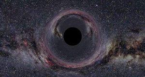 سیاه چاله سرگردان در کهکشان