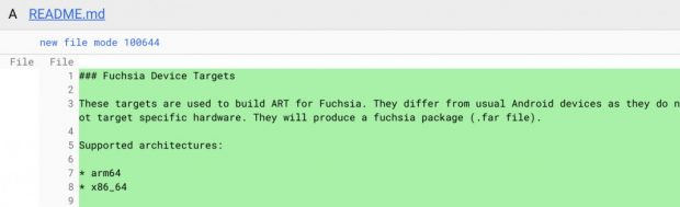 سیستم عامل Fuchsia