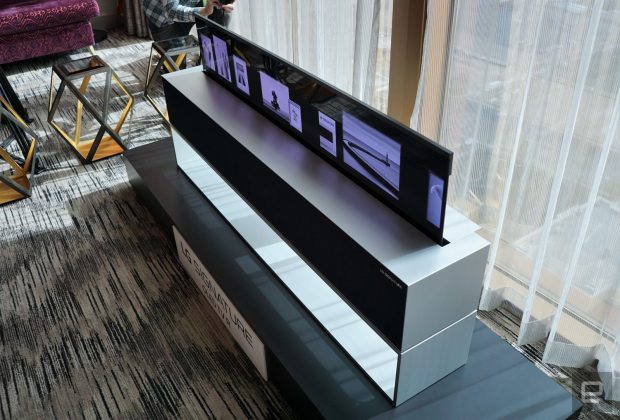 ال جی Signature OLED TV R