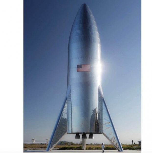 راکت آزمایشی استارشیپ