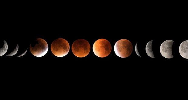 ابر ماه گرفتگی خونین