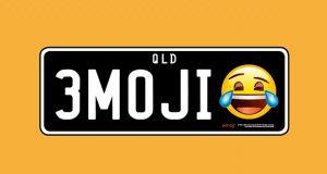 شکلک اموجی در پلاک اتومبیل استرالیا