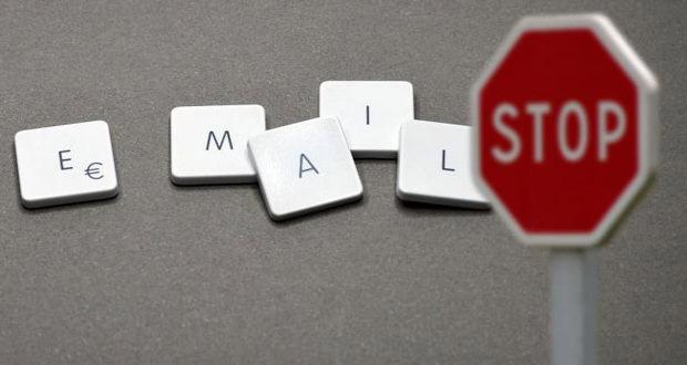 مسدود کردن ایمیل