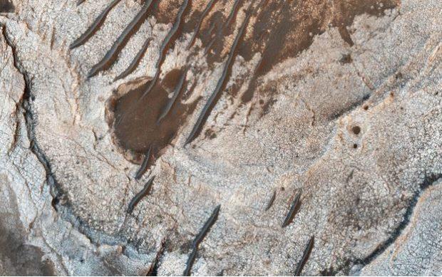 تپه های شنی مریخ